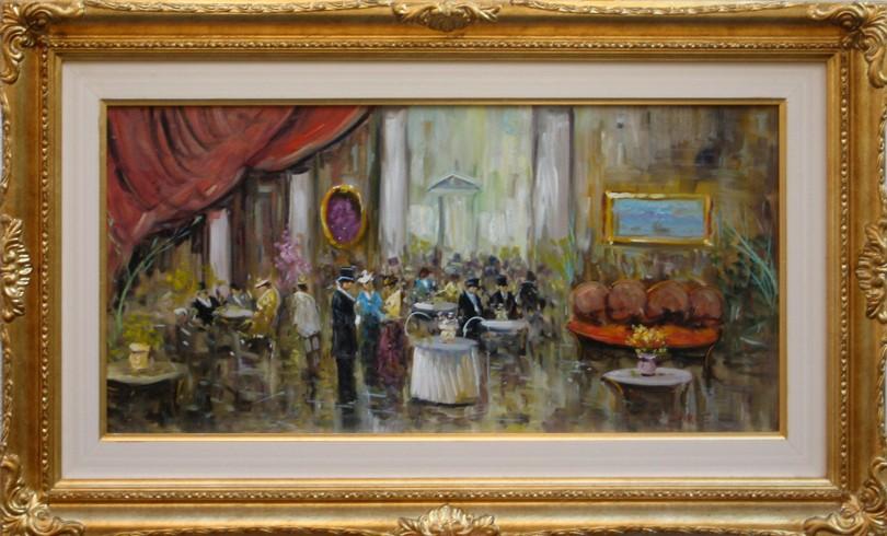 caff parigino eniko esposito galleria raffaello ischia